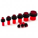 Plug - Kunststoff - Rot