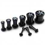 Plug - Stern - Kunststoff - Schwarz