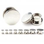 Plug - Stahl - Silber