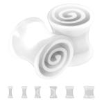 Plug - Spirale - Kunststoff - Weiß