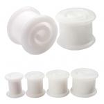 Plug - Spirale - Silikon - Weiß