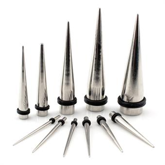 Dehnstab - Stahl - Silber 4,0 mm