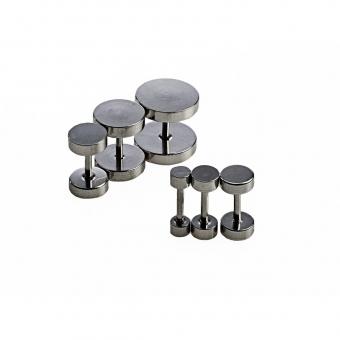 Fake Plug - Stahl - Silber