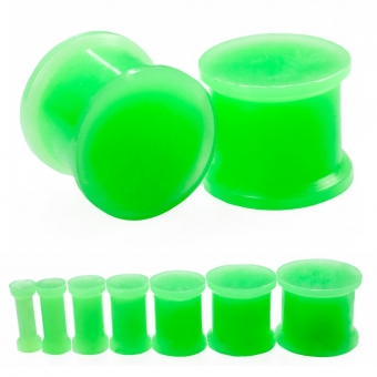 Plug - Silikon - Grün