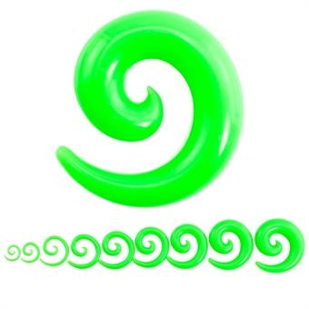 Dehnschnecke - Kunststoff - Grün