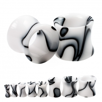 Flesh Tunnel - Marmor - Kunststoff - Weiß