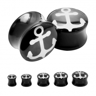Plug - Anker - Kunststoff - Schwarz