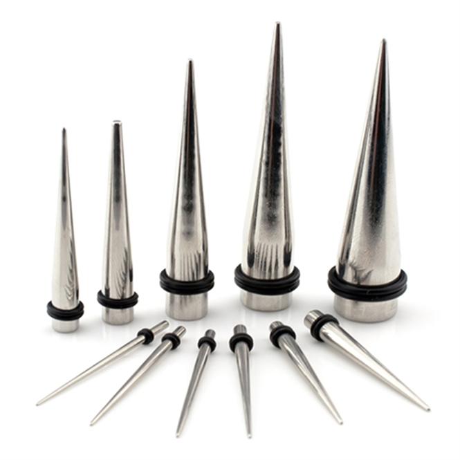 Dehnstab - Stahl - Silber 8,0 mm