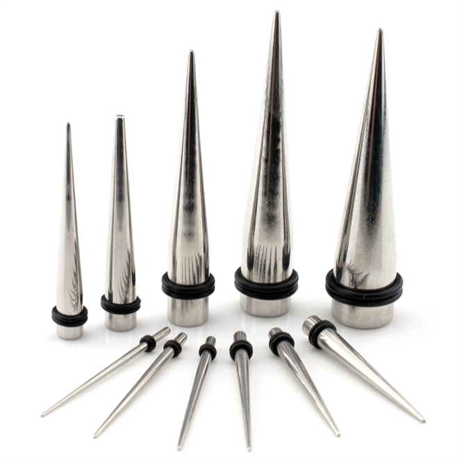 Dehnstab - Stahl - Silber