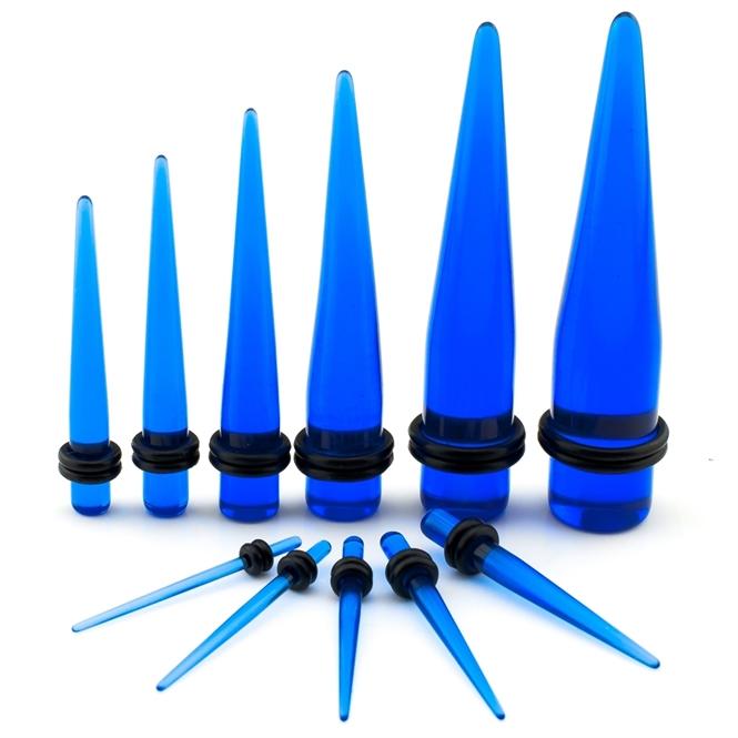 Dehnstab - Kunststoff - Blau 2,4 mm