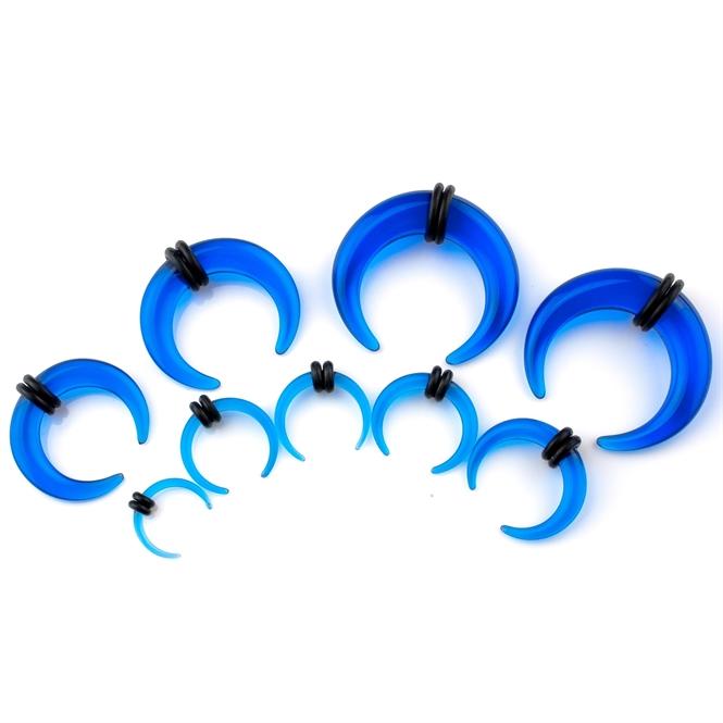 Dehnsichel - Kunststoff - Blau 6,0 mm