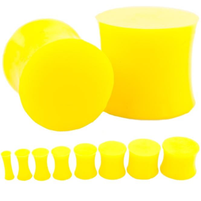Plug - Silikon - Gelb