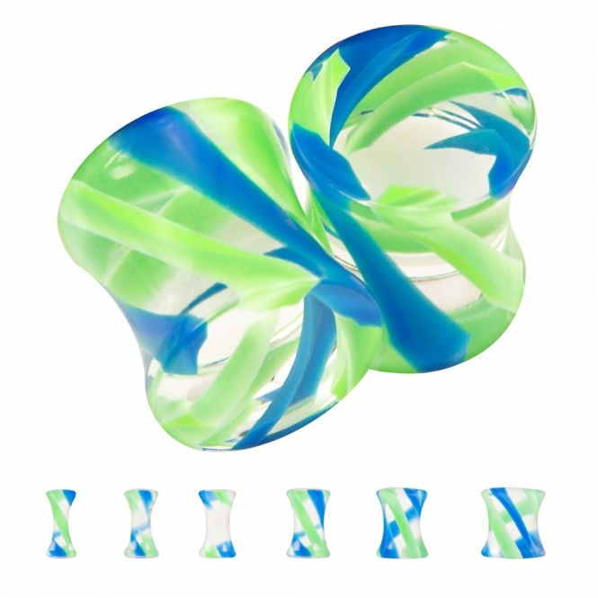 Plug - Twist - Kunststoff - Blau / Grün